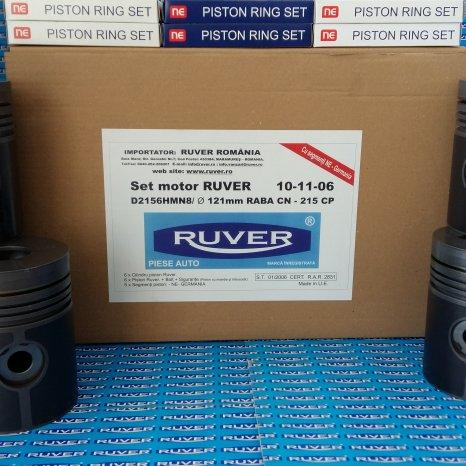 Set motor RABA CN/Turbo, D2156, Ruver, marca inregistrata