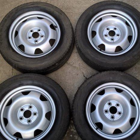 Jenti otel VW T5-T6, Amarok - R17+anvelope M+S 225/65/17