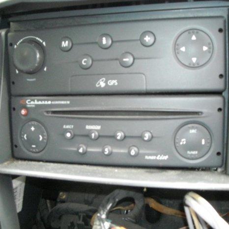 Vand radio cd renault laguna 2