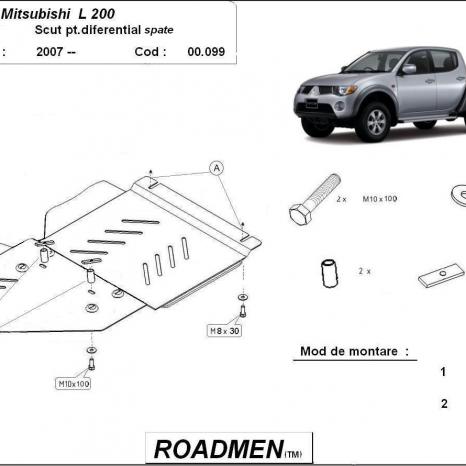 Scut diferential Mitsubishi L200 la 220 lei!