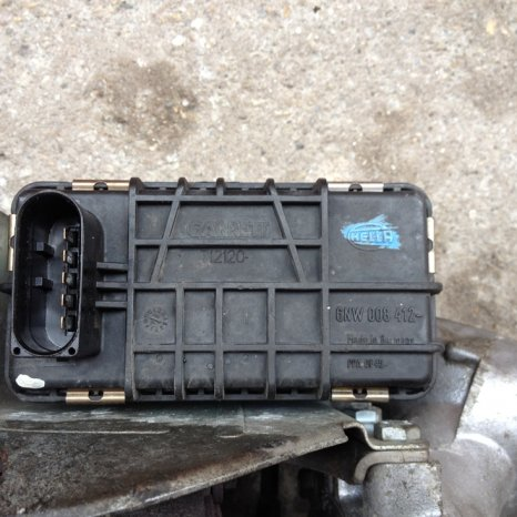 Turbina BMW E46 320d 150 CP, actuator electronic