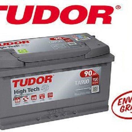 Baterie auto Tudor High - Tech 90 Ah TA900 acumulator auto NOU an