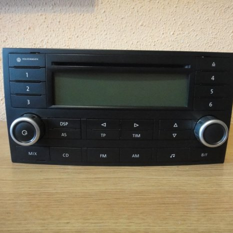 Radio Cd Player delta Original Volkswagen Touareg T5