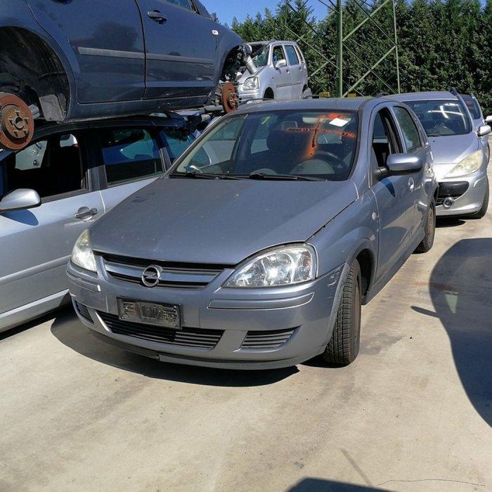 DEZMEMBRARI AUTO / DEZMEMBREZ Opel Corsa C facelift an 2003 - 2004 - 2005 - 2006 - 2007 motor 1.2 12v tip Z12XE  Z12XEP , 1.4 16v tip Z14XEP , 1.3cdti tip Z13DT , 1.7dti tip Y17DT