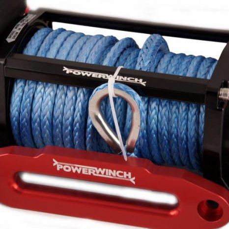 OFF-ROAD.Troliu electric ,cablu sintetic,trage 12000lbs(5443kg) l