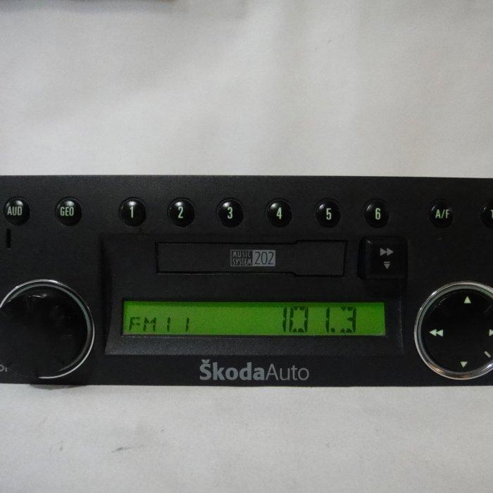 Radio Casetofon Original SKODA Fabia 1