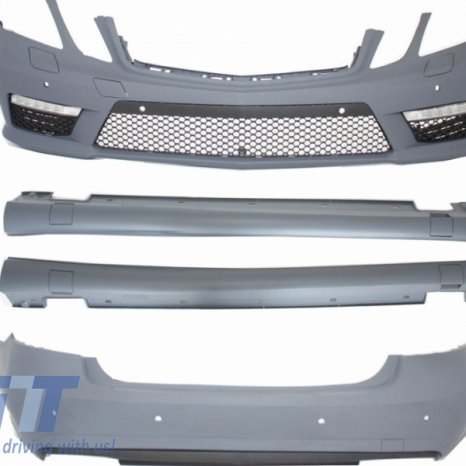 Kit exterior complet AMG Mercedes Benz E-Class W212 (2009-2013) P