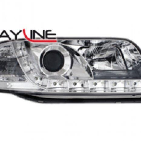 Faruri DAYLINE AUDI A6 4B 97-01 chrom