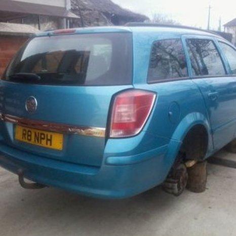 Opel Astra H, bleu, 2005