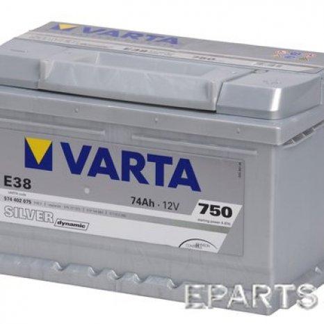 Acumulator Varta Silver Dynamic 74Ah EN 750A