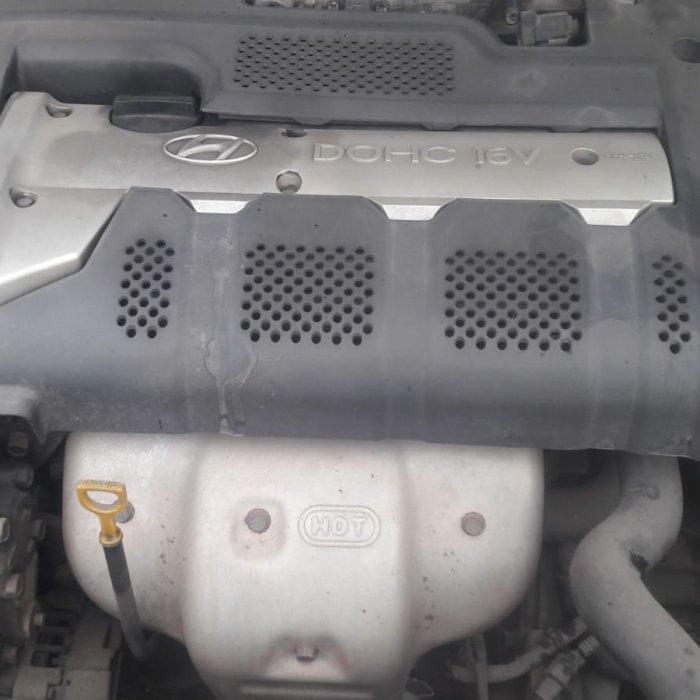 Dezmembrez hyundai xd elantra an 2001 motor 2. 0 benzina tip g4gc, motor, cutie viteze, fuzete fata, punte fata , punte spate, eghereuri, alternator, electromotor, capota, bara fata, capota portbagaj, capota fata, faruri, ansamblu tobe, etriere fata,