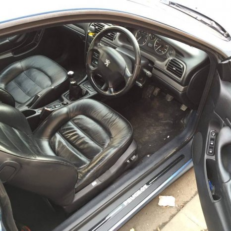 Interior Piele Peugeot 406 Coupe