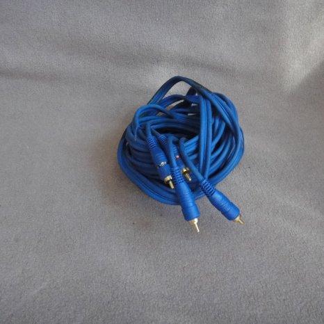 Cabluri rca amplificator statie 5,5m