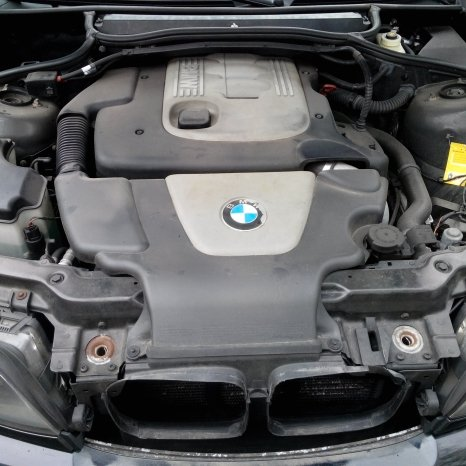 Vand motor BMW 320d e46 150CP + cutie manuala 5 trepte