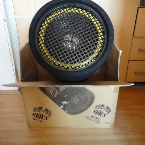 Vand subwoofer auto sioux 380w