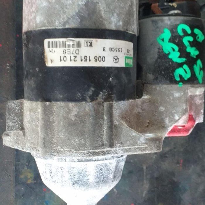 electromotor mercedes a class 1.4/1. benzina ,cod 0051512101 in stare buna,piesele se pot ridica personal de catre dumneavoastra sau le puteti primi prin curier rapid 24 h in toata tara cu plata ramburs clientii nostri beneficiaza de consultanta in a