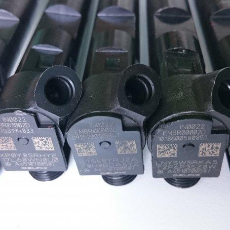 EMBR00002D Delphi injectoare mercedes A6510700587 Sprinter GLK C-