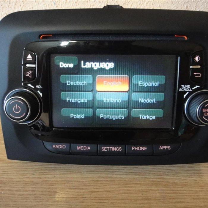 Radio cd mp3 fiat 500 L multimedia bluetooth
