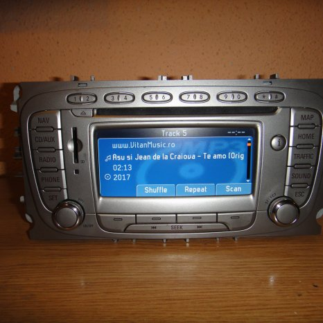 Navigatie Color OEM Ford Travelpilot Ls-Rns Mondeo Focus Kuga