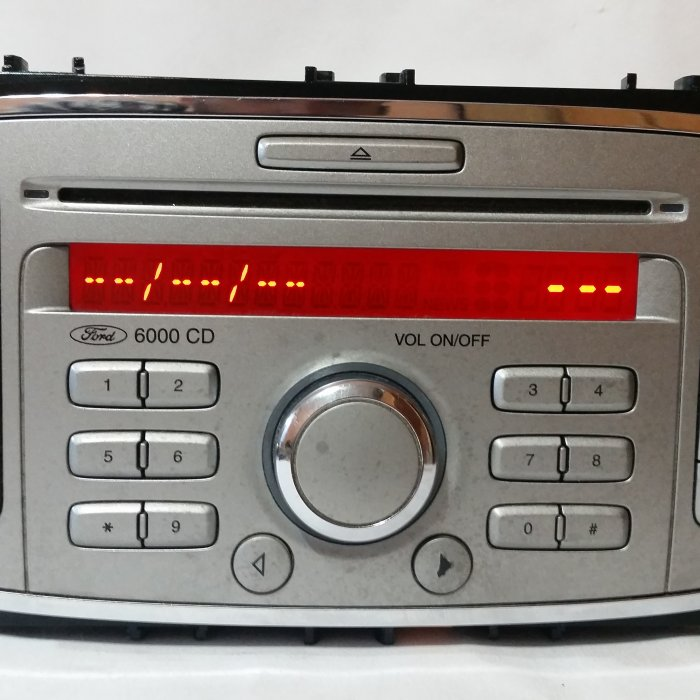 Radio Cd Player Ford 6000 Cd Radio Cd Player Ford 6000 Cd