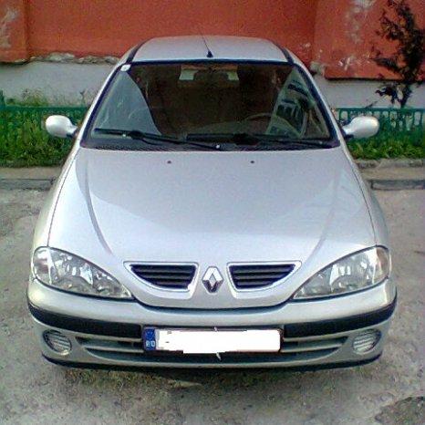 set grile crom capota motor renault megane 1 an 1998-2003