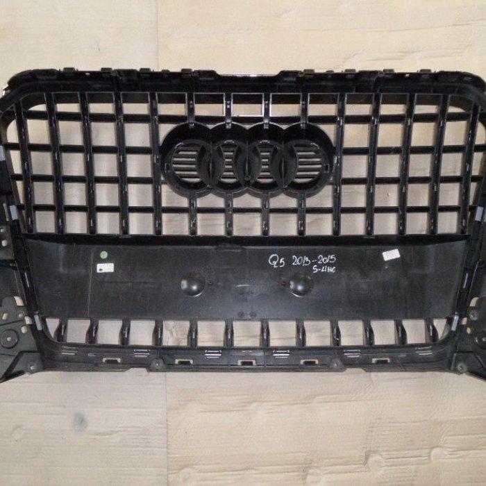 Grila bara fata Audi Q5 2013-2015 8R0853651R in conditie buna