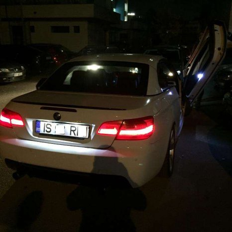 Lampi LED Numar inmatriculare Auto Dedicate BMW/ALB PUR/BMW E9