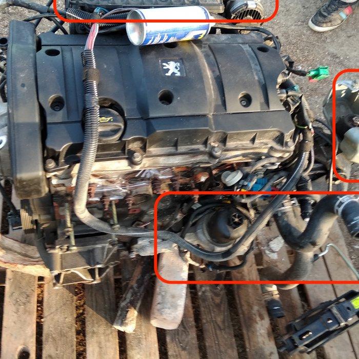 Motor Peugeot  206 1.6. 16 v benzina NFU