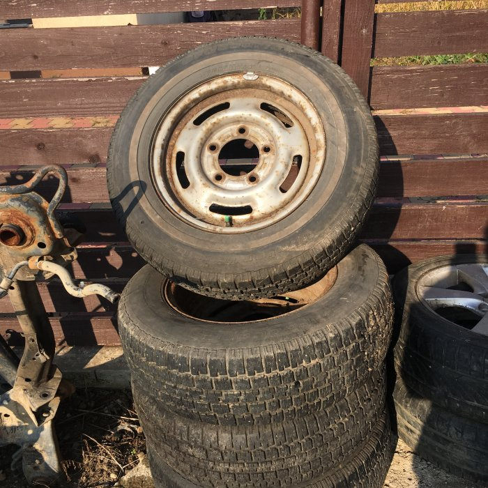 set jante tabla kia sportage R15