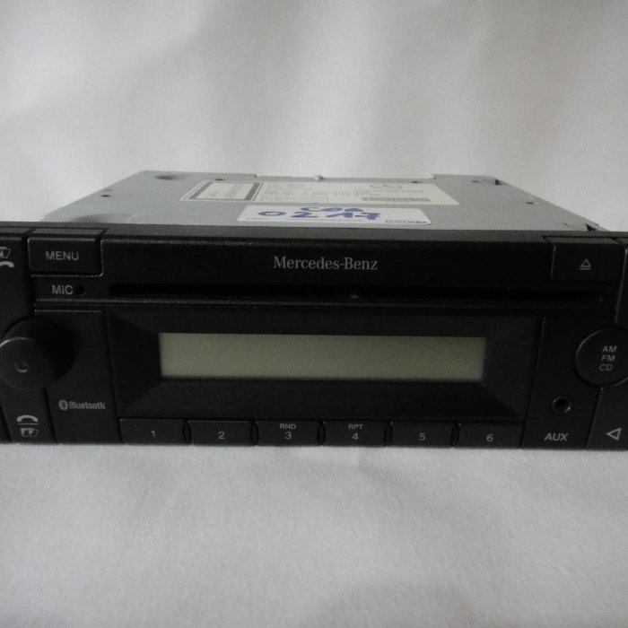 Radio Mp3 player Mercedes Benz 24v pentru camioane Bluetooth  truck high base