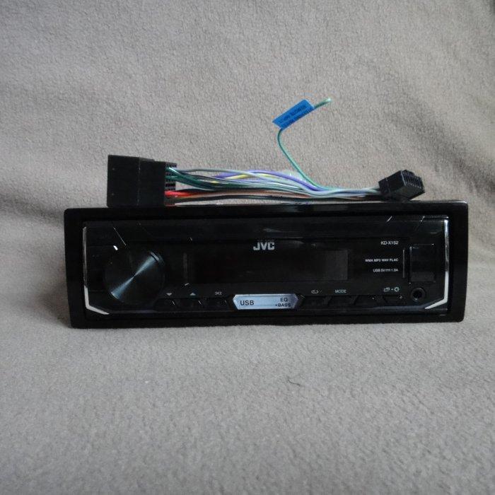 Mp3 player auto 4x50w  usb aux JVC kd x152