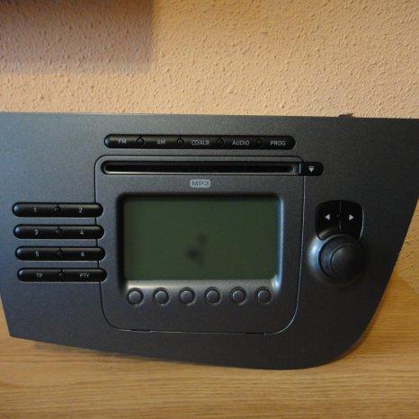 Radio Cd MP3 Player Original SEAT Leon 2