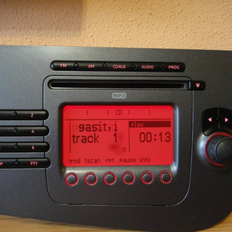 Radio Cd MP3 Player Original SEAT Leon 2