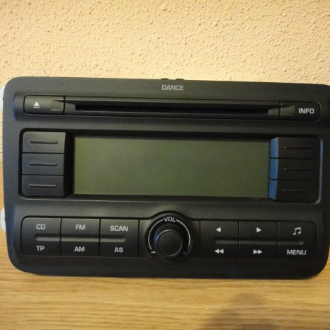 Radio MP3 Original SKODA Fabia2 Roomster