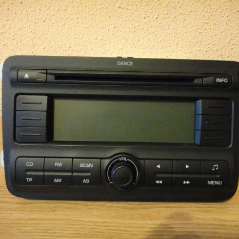 Radio MP3 Original SKODA Fabia2 Roomster