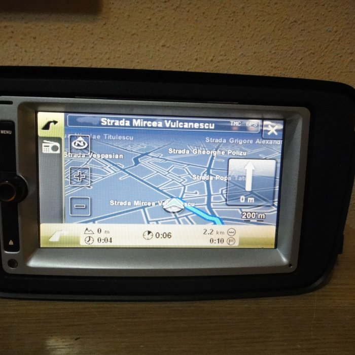 Navigatie Dvd DIVX Bluetooth Oem Smart Fortwo w451 Forfour