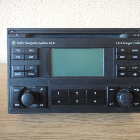 Radio Cd Player Navi OEM Volkswagen MCD Skoda Seat