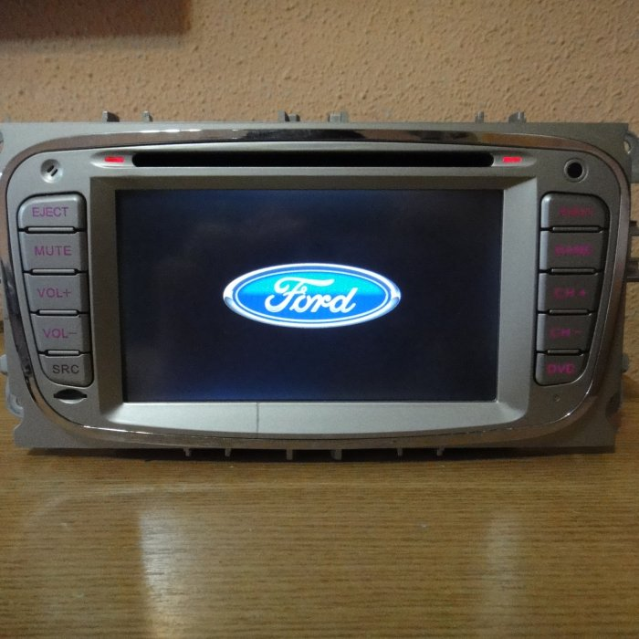 Navigatie Auto Ford DIVX SD Touchscreen Bluetooth