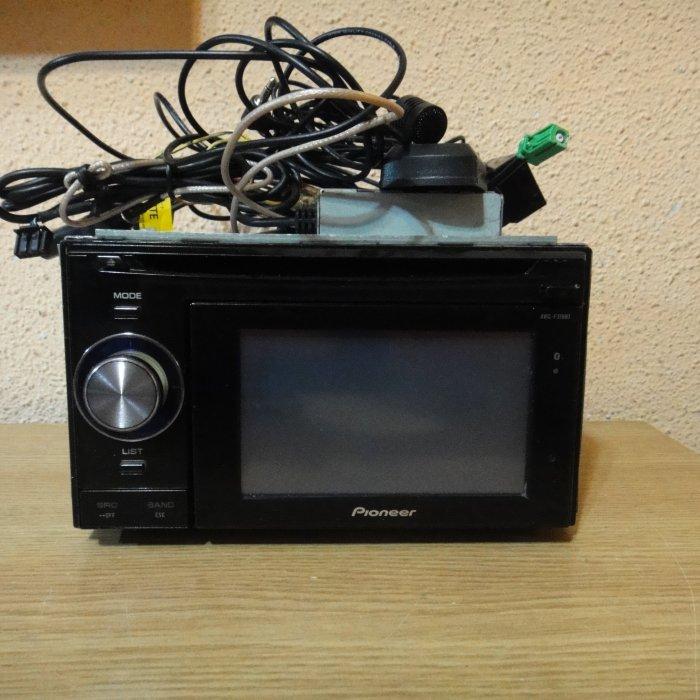 GPS Auto 2din Pioneer MP3 USB AVI DIVX SD Touchscreen Bluetooth