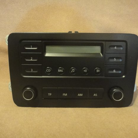 Radio Volkswagen Caddy Touran