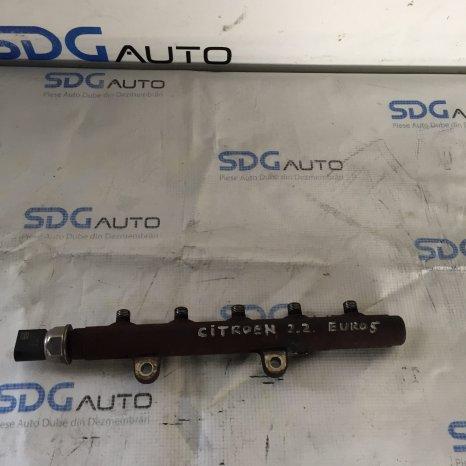 Rampa Injectoare-Peugeot Boxer 2.2 HDI-2012-2014 Euro 5