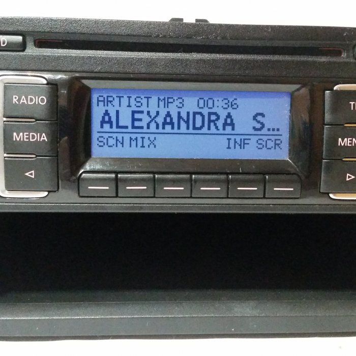 Radio Mp3 Player OEM Volkswagen Rcd210 Passat Golf Eos Jetta
