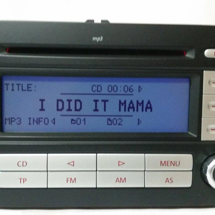 Radio Mp3 Player Volkswagen RCD300