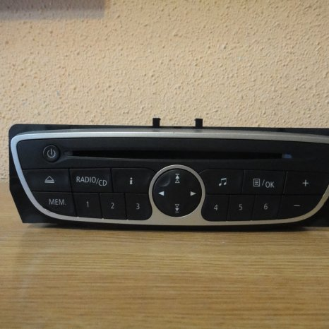 Radio cd mp3 player original megane clio scenic