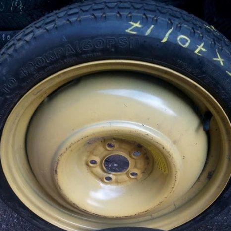 Roata de rezerva ingusta pt. Toyota R17- 5x100, anvelopa 125/70/1