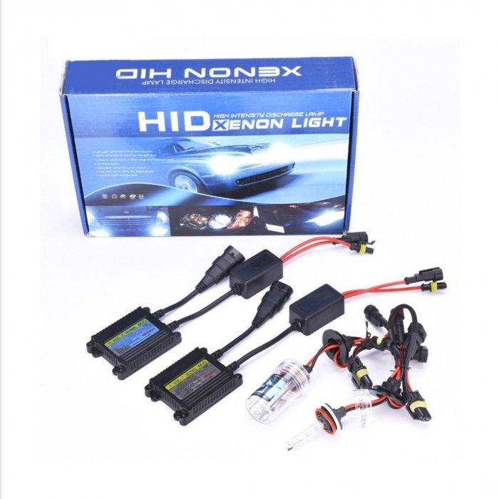 Kit Xenon, HID H7 55W, 8000 K  , Kit instalatie Xenon