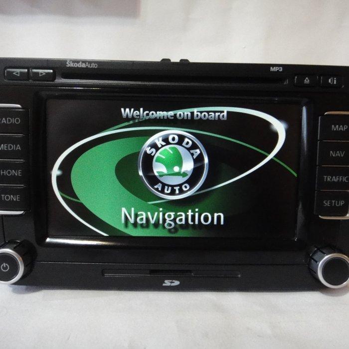 Navigatie Originala Skoda Columbus DvD Touchscreen