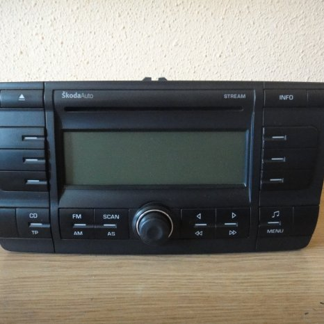 Cd Player Skoda Octavia 2 Stream Aux