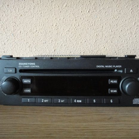 Sistem audio Ssangyong Kyron radio cd player