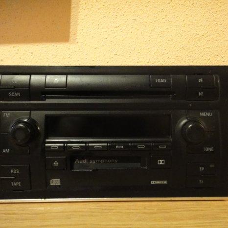 Radio 6 CD-URI OEM Audi A4 B6 B7 A6 Symphony 2